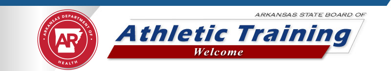 Arkansas State Board of Athletic Training - Welcome